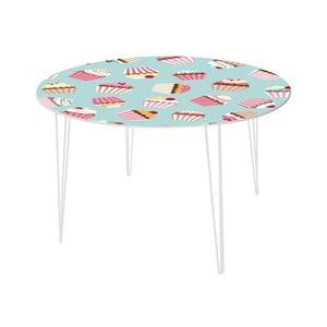 Stół do jadalni Yummy Cupcakes, 120 cm