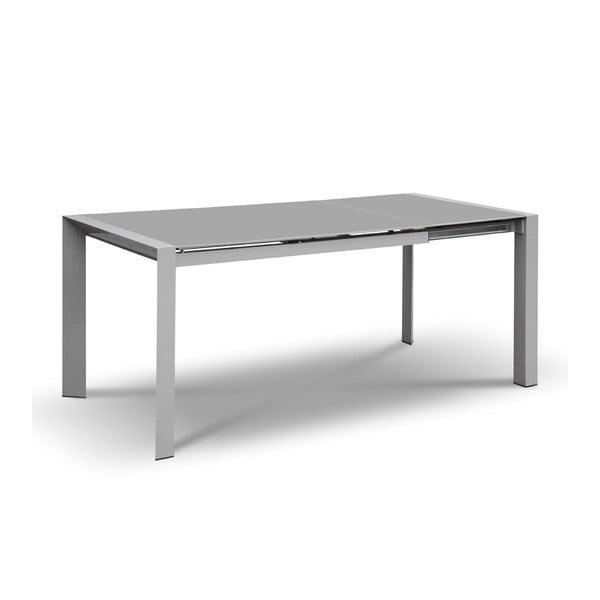 Stół rozkładany Seller, 120-180 cm, szary
