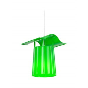 Zielony ogrodowy lampion wiszący Luciana