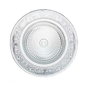Talerz szklany Unimasa Romance, Ø 18 cm