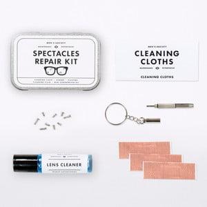 Zestaw do czyszczenia i naprawy okularów Men's Society