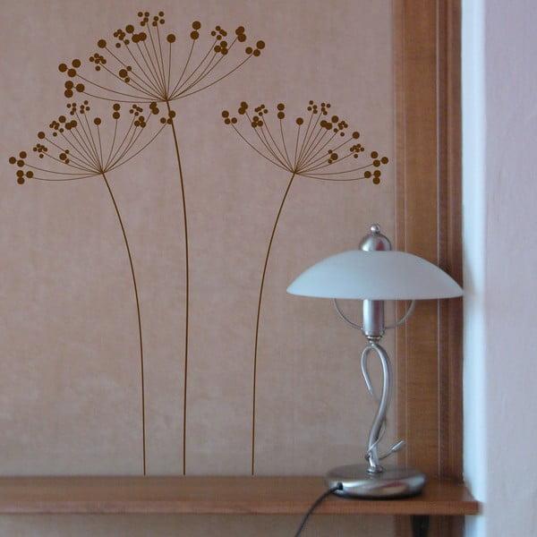 Naklejka winylowa Mały, brązowy baldach, 3 szt