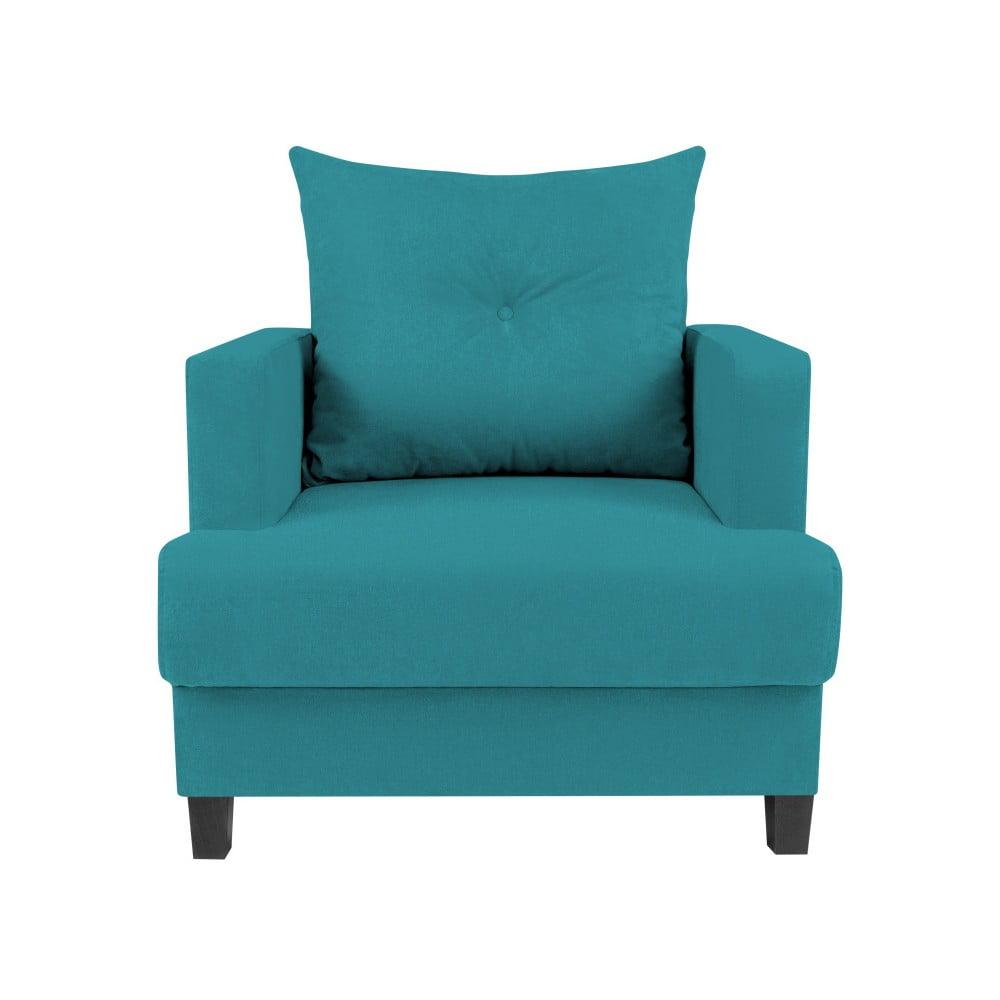 Turkusowy fotel Melart Lorenzo