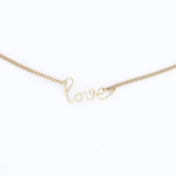 Naszyjnik Love Gold