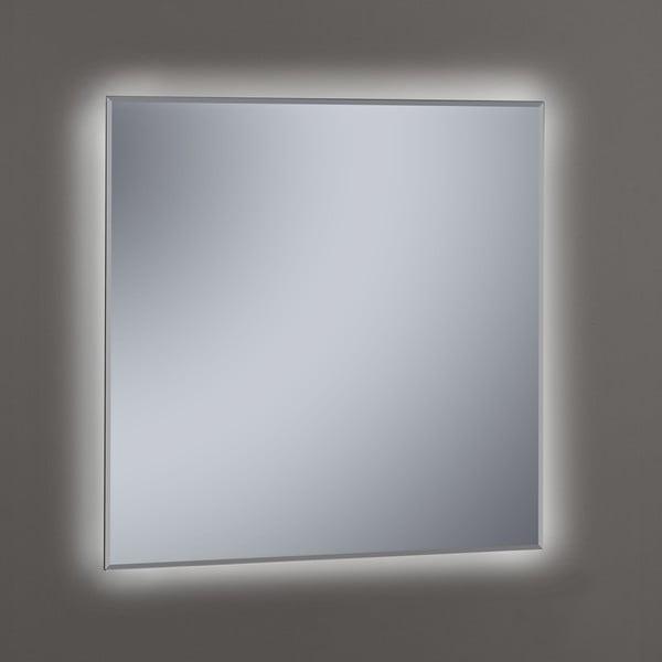 Lustro z oświetleniem LED Lateral, 80x80 cm