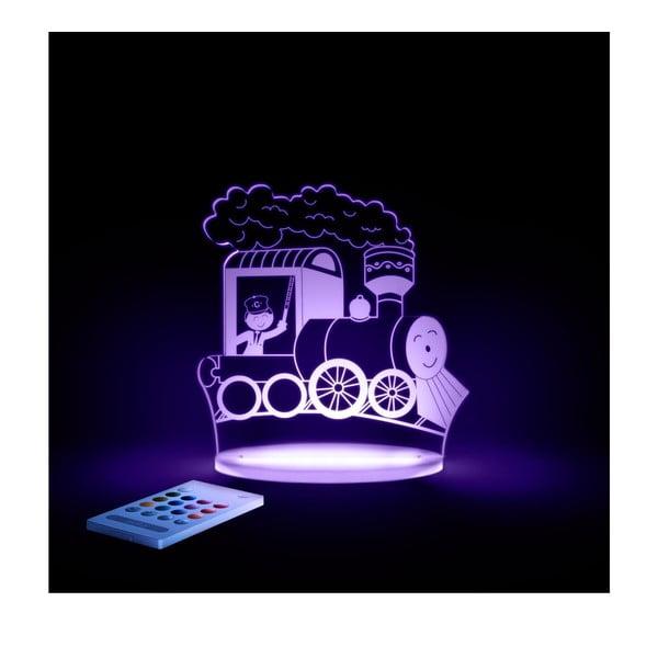 Dziecięca lampka nocna LED Aloka Pociąg