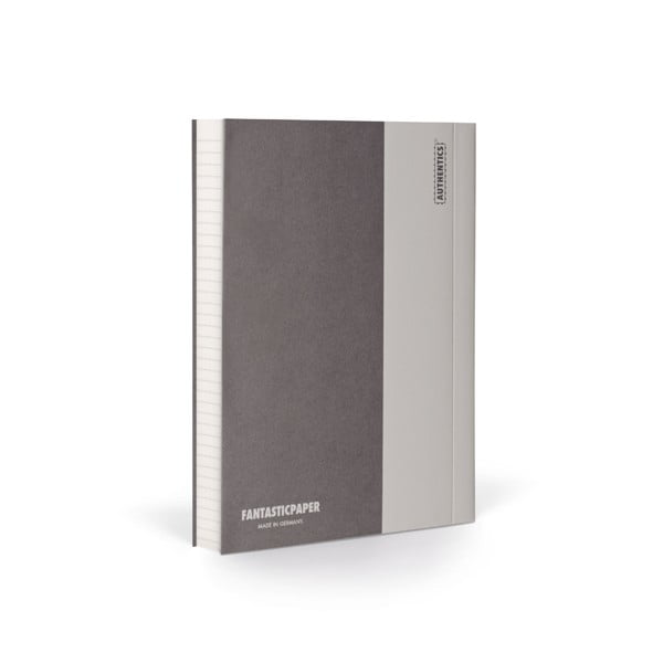 Notes FANTASTICPAPER A6 Stone/Warm Grey, w linie