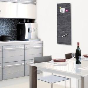 Tablica magnetyczna Eurographic Black Slate, 30x80 cm