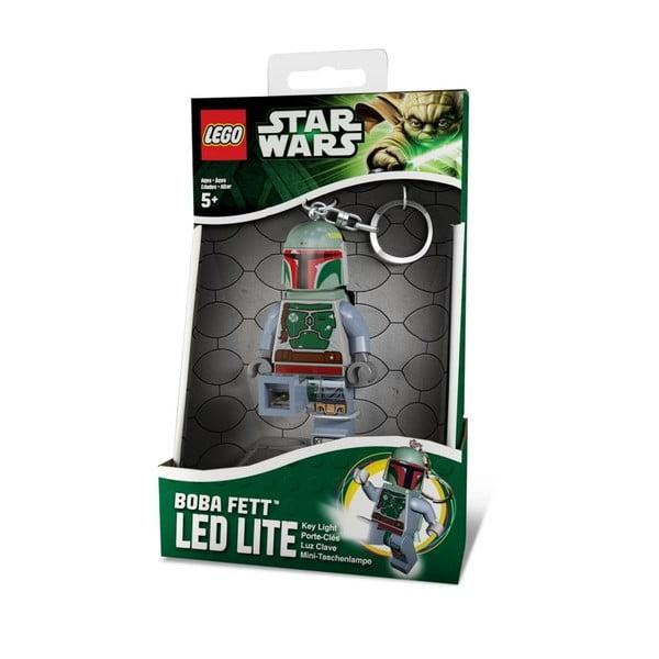 Świecący breloczek LEGO Star Wars Boba Fett