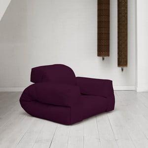 Fotel rozkładany Karup Hippo Purple Plum