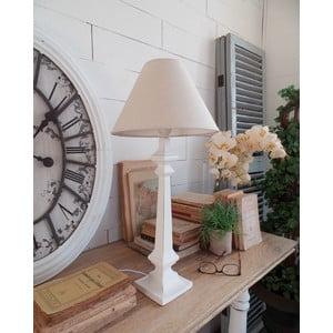 Lampa stołowa Antique White, 27x58 cm