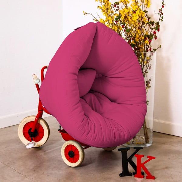 Fotel dziecięcy Karup Baby Nest Magenta