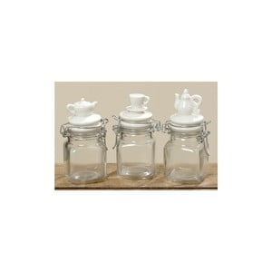 Komplet 3 pojemników Kitchen Jar