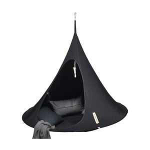 Czarny namiot wiszący dwuosobowy Cacoon Double
