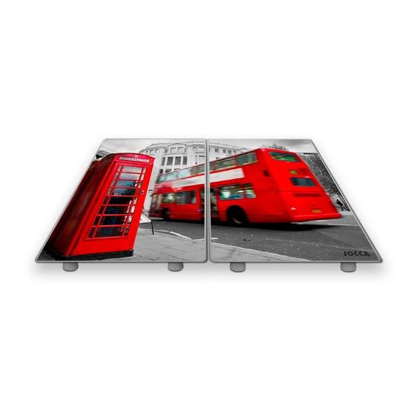 Zestaw 2 szklano-cermicznych podstawek JOCCA London