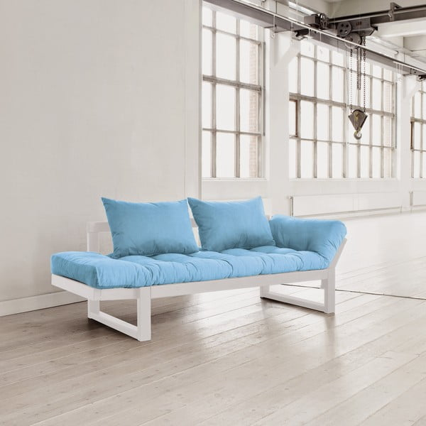 Sofa Karup Edge White/Celeste