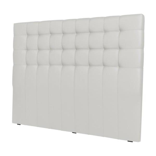 Biały zagłówek łóżka Windsor & Co Sofas Deimos, 140x120 cm
