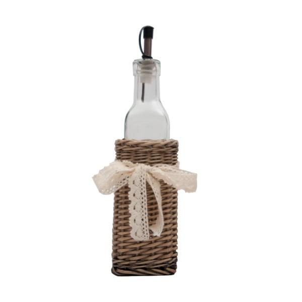 Buteleczka na olej w koszyku Bottle