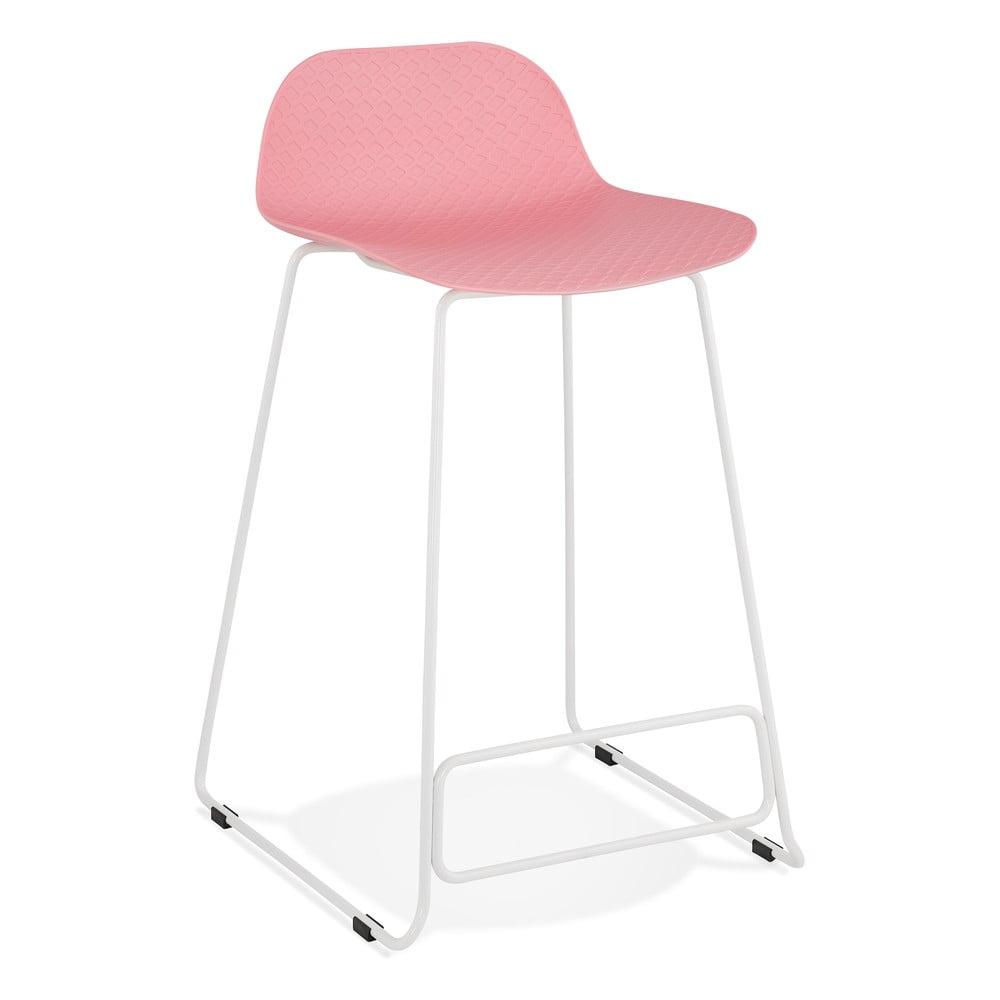 Różowy hoker Kokoon Slade Mini, wys. siedziska 66 cm