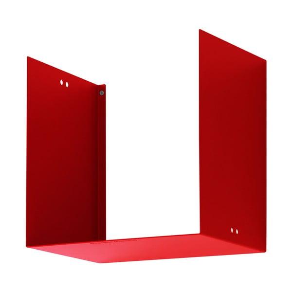 Półka Geometric One, czerwona