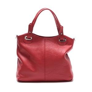 Czerwona skórzana torebka Nena