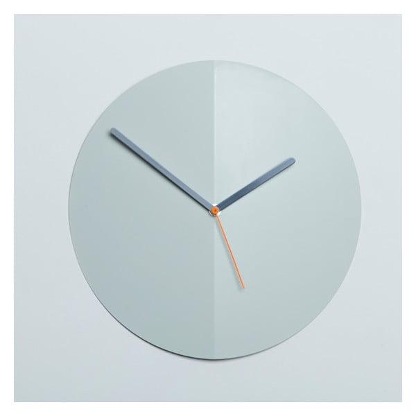Zegar ścienny Mountain Fold, miętowy