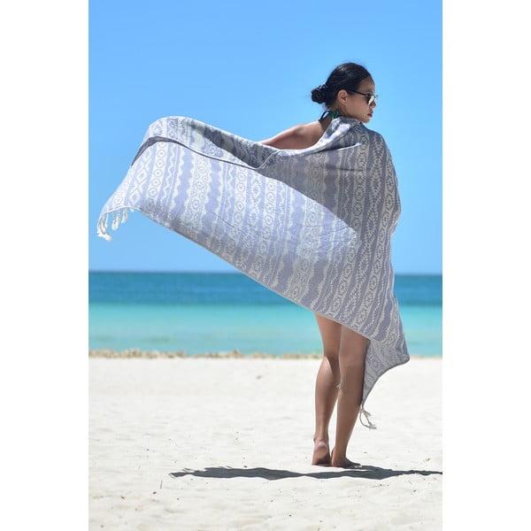 Ręcznik hammam Heritage, niebieski