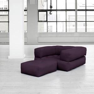 Fotel rozkładany Karup Cube Purple