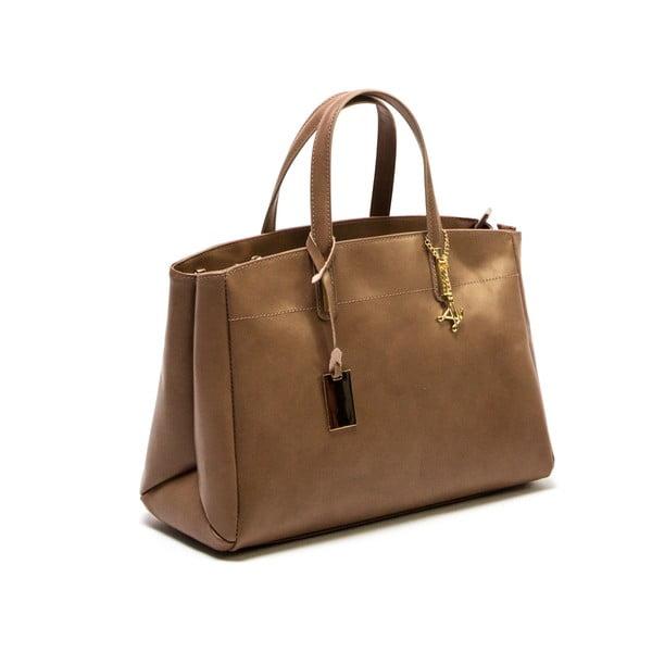 Brązowa skórzana torebka Francesca