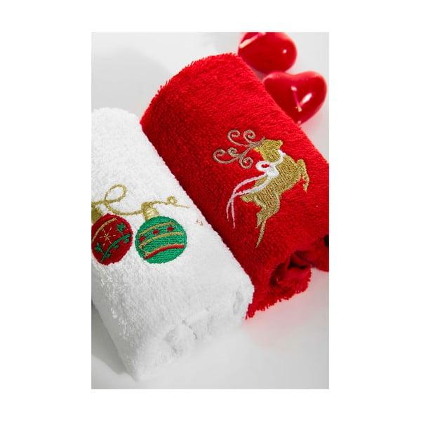 Zestaw 2 ręczników Balls Deer, 30x50 cm