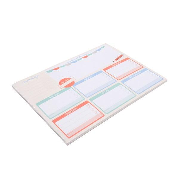 Planer   stołowy Homework Planner