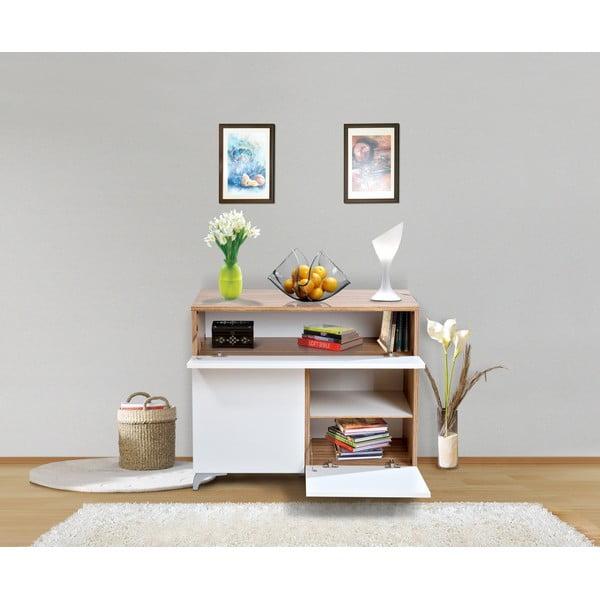 Komoda Decoflex Table, biała/samba