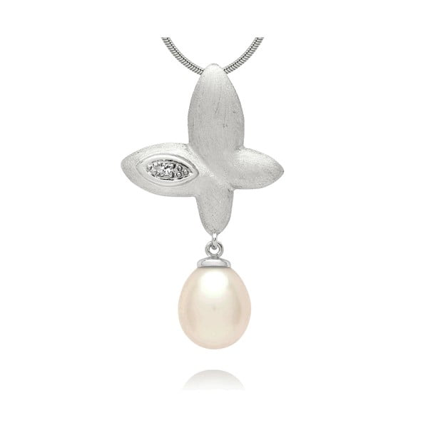 Zawieszka Pure Pearls Silver Diamond Freedom