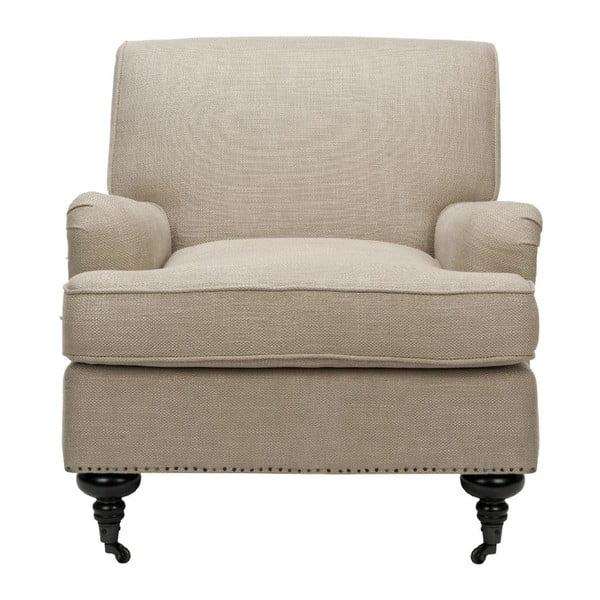 Fotel Chloe Club, kremowe