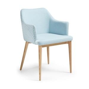 Niebieskie krzesło La Forma Danai