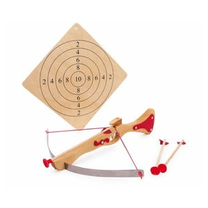 Kusza drewniana z tarczą dla dzieci Legler Crossbow