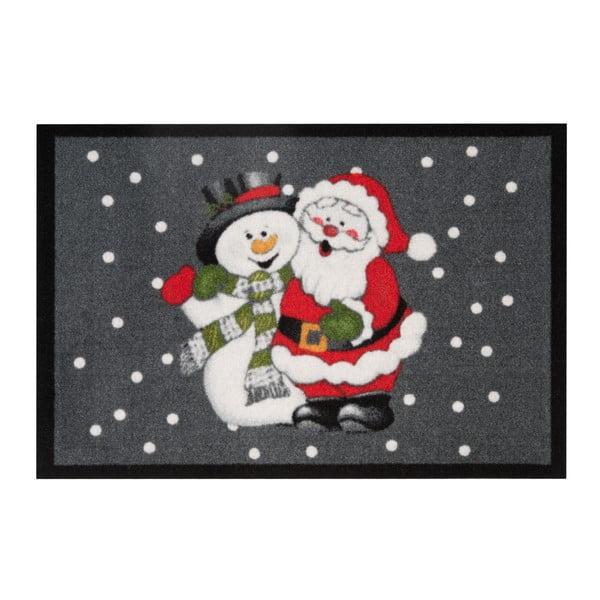 Wycieraczka Hans Home Santa and Snowman, 40x60 cm