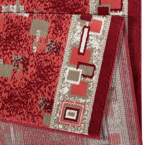 Dywan Basic Retro, 80x500 cm, czerwony