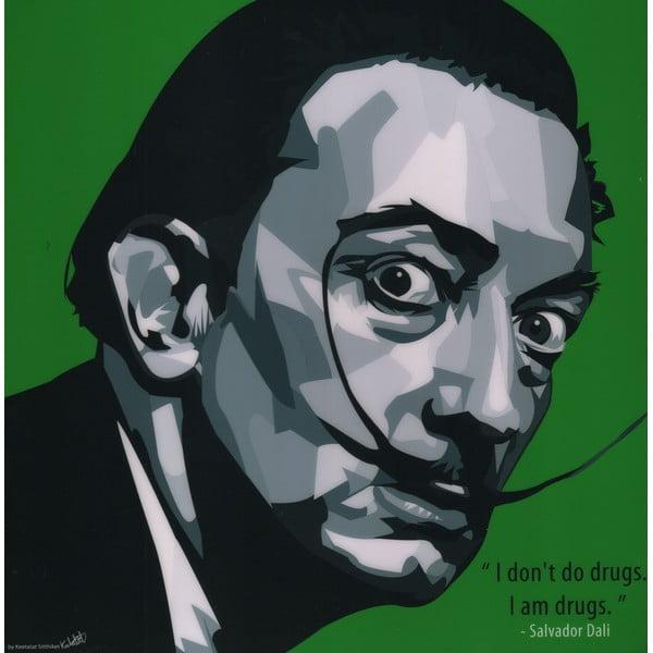 """Obraz """"Dali"""", zielony"""