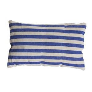 Poduszka Cosas de Casa Stripes, 30x50 cm, niebieska