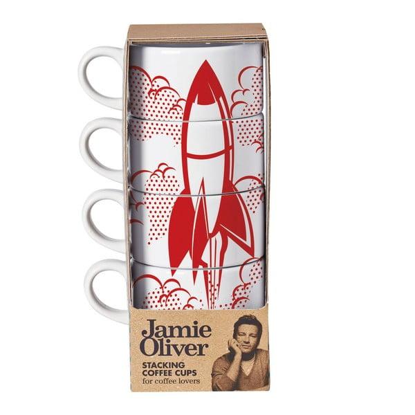 Komplet 4 kubków Jamie Oliver Rocket