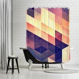 Zasłona prysznicowa Purple Way, 180x180 cm