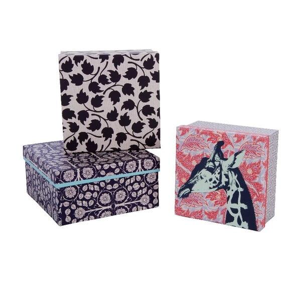 Zestaw 3 pudełek Lovely