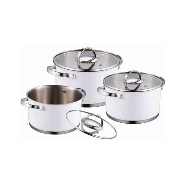 Zestaw Cookware White, 6 szt.