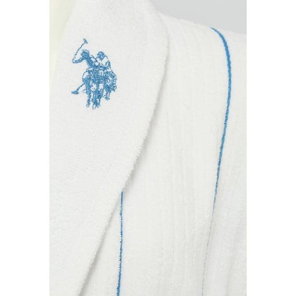 Szlafrok męski U.S. Polo Assn. asper Blue, S/M