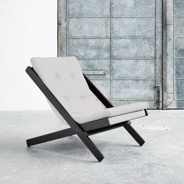 Fotel składany Karup Boogie Black/Vision