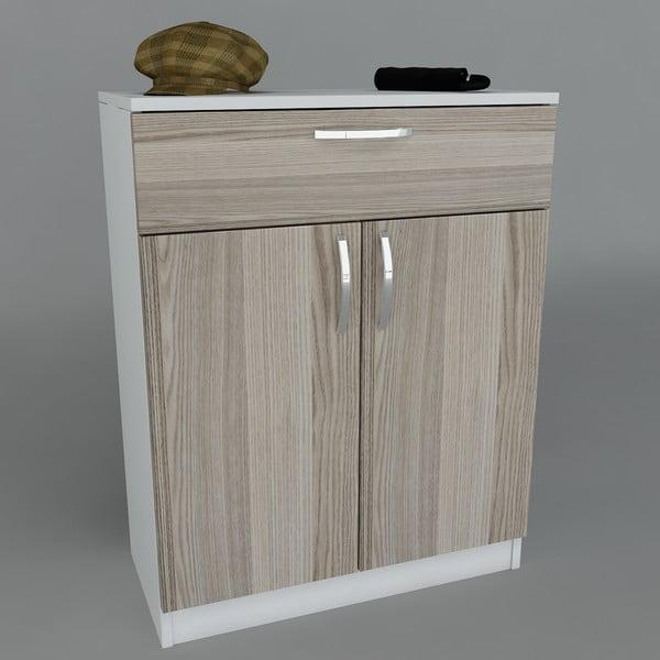 Szafka na buty Corking White/Cordoba, 70x90x35,3 cm
