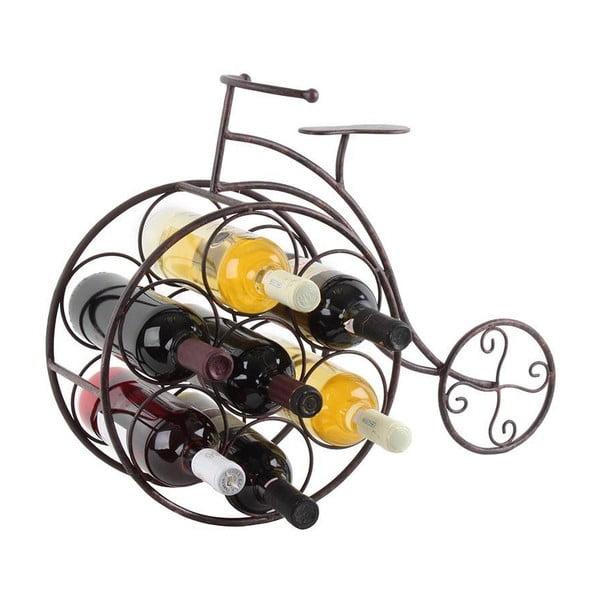 Stojak na wino Rustic Bike
