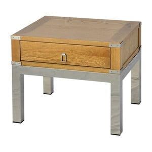 Stolik z drewna dębowego Artelore Astrid