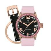 Zegarek damski Marc Coblen z dodatkowym paskiem i obręczą P88